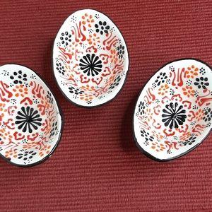 Handmade Painted little bowls 3